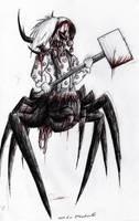 Zombie Spider Clown by Fireseeker-A47