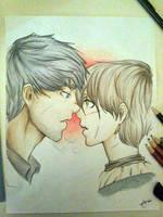 To Kiss A Direwolf ~ Gendrya by TheAleksDemon