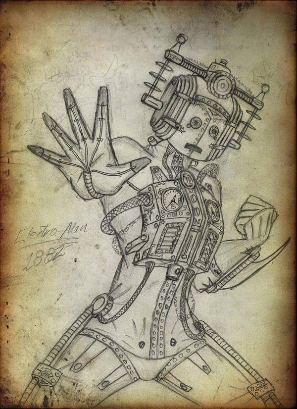 Stmpnk Cyberman - 'Invasion' by Promus-Kaa
