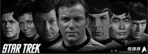 Trek 2009-Original Crew Banner by Promus-Kaa