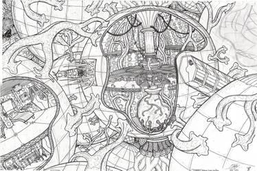 TARDIS Interior Cross-Section by Promus-Kaa