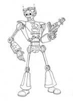 WWII Soviet Cyberman by Promus-Kaa