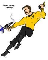Captain Kirk by Promus-Kaa