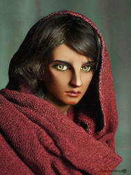 Van as Afghan Girl by Katyok