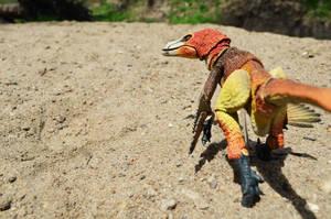 Velociraptor mongoliensis 1 by CrazyAsylumClown