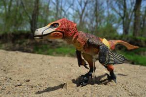 Velociraptor mongoliensis 2 by CrazyAsylumClown
