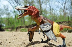 Velociraptor mongoliensis 3 by CrazyAsylumClown