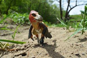 Velociraptor mongoliensis 4 by CrazyAsylumClown