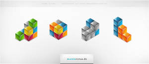 Cube Icons by basstar