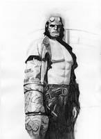 Hellboy by basia