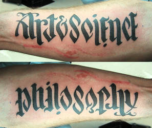 ArtScience Versus Philosophy by TheseAreMyScars