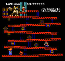 Ape Man NES by hfbn2