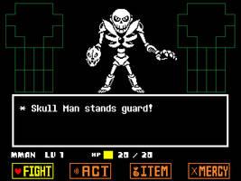 Undertale Skull Man by hfbn2