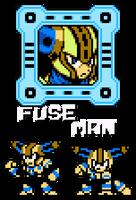 Fuse Man 8-bit by hfbn2