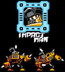 Impact Man - 8-Bit by hfbn2