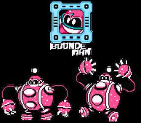 Bounce Man 8-Bit by hfbn2