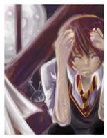 Lunacy:Remus Lupin by hotaruu
