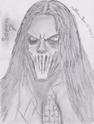 Slipknot Seven Mick Thomson by Matthias-D-Zerez