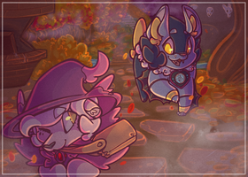 Patreon Postcard October 2018 by Wooled