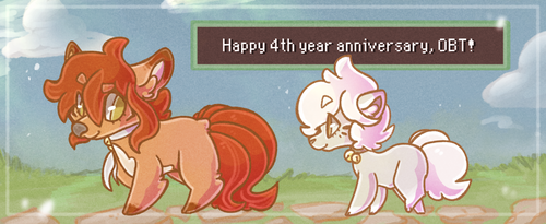 OBT 4 Year Anniversary by Wooled