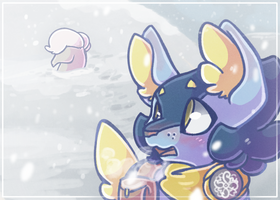 Patreon Postcard January 2019 by Wooled