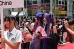 Team China 2010 Parade by Wakaleo