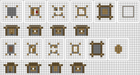 Alternate Small Houses by MysticSamuraiX