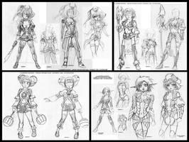 Costume studies 01 by Karafactory