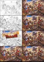 Animeland Madness - Work in Progress by Karafactory