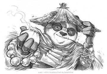 Kung Fu Panda 3 - fanart by Karafactory