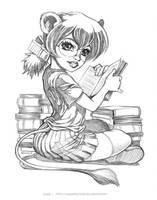 Rat de Bibliotheque by Karafactory