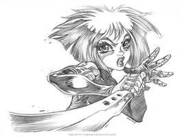 Battle Angel by Karafactory