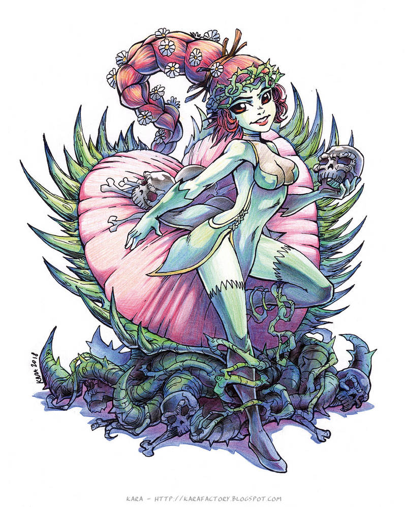 Carnivore Poison Ivy [In colors] by Karafactory