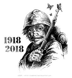 1918-2018 by Karafactory