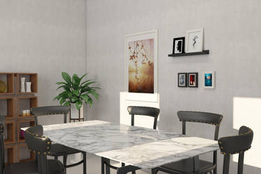 3D Modeling and rendering of an apartment by Sabrina1497