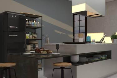 Kitchen by Sabrina1497