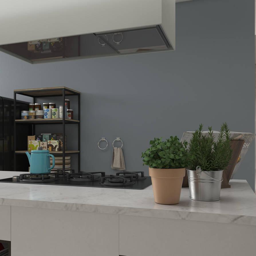 Kitchen - 02 by Sabrina1497