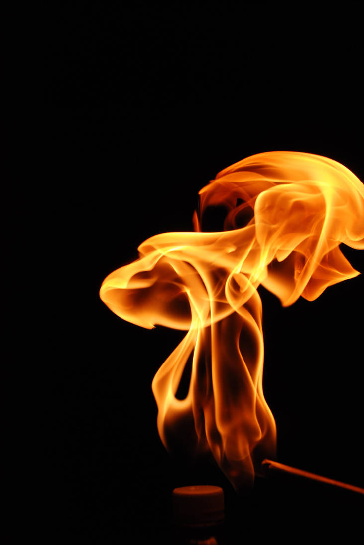 Fire Abstract by M3los93