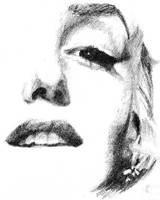 Marilyn Monroe Detail by ktparkes