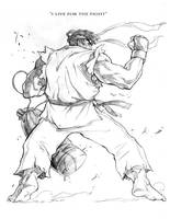 Ryu by caananwhite