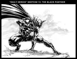 BLACK PANTHER by caananwhite