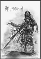 Myrddraal by caananwhite