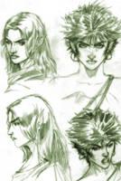 Elven Women by caananwhite