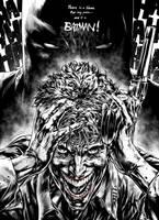 Joker's pain by caananwhite