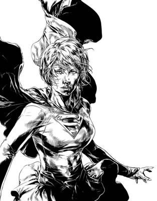 Supergirl by caananwhite