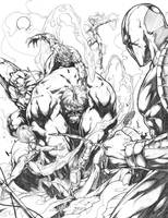YOUNGBLOOD vs HULK by caananwhite