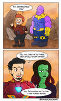 The plan against Thanos -COMIC- by DakunArt