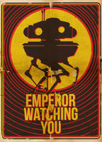emperor is watching you by cunaka