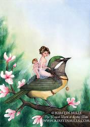 Fairy Warbler by kirstinmills