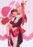 Valentine by awanqi